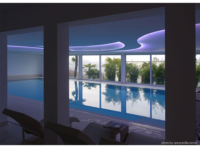 pool the view lugano - Dica de Hotel | The View Lugano, um 5 estrelas romantico e espetacular na Suíça