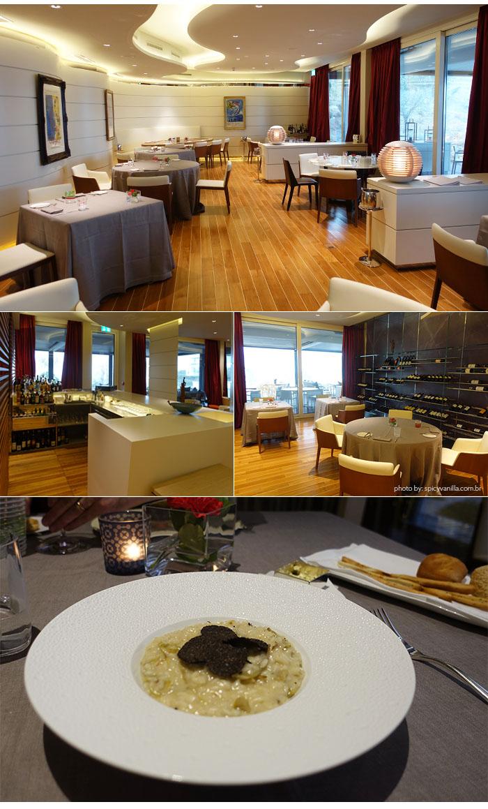 restaurante the view lugano - Dica de Hotel | The View Lugano, um 5 estrelas romantico e espetacular na Suíça