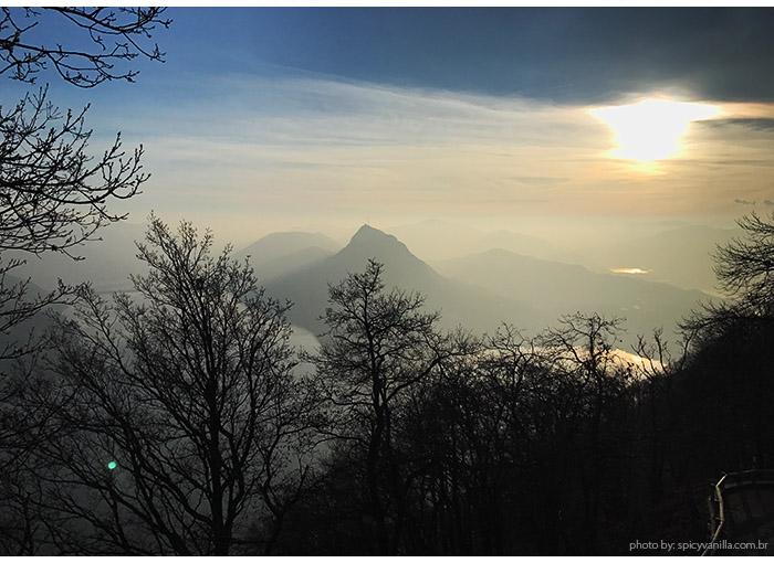 por do sol monte bre - Lugano | Onde ficar e o que fazer na cidade