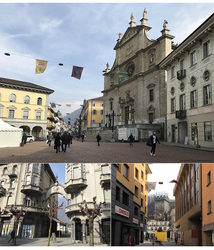 bellinzona cidade - Suíça | Os castelos de Bellinzona e a viagem até Chur (Coira)