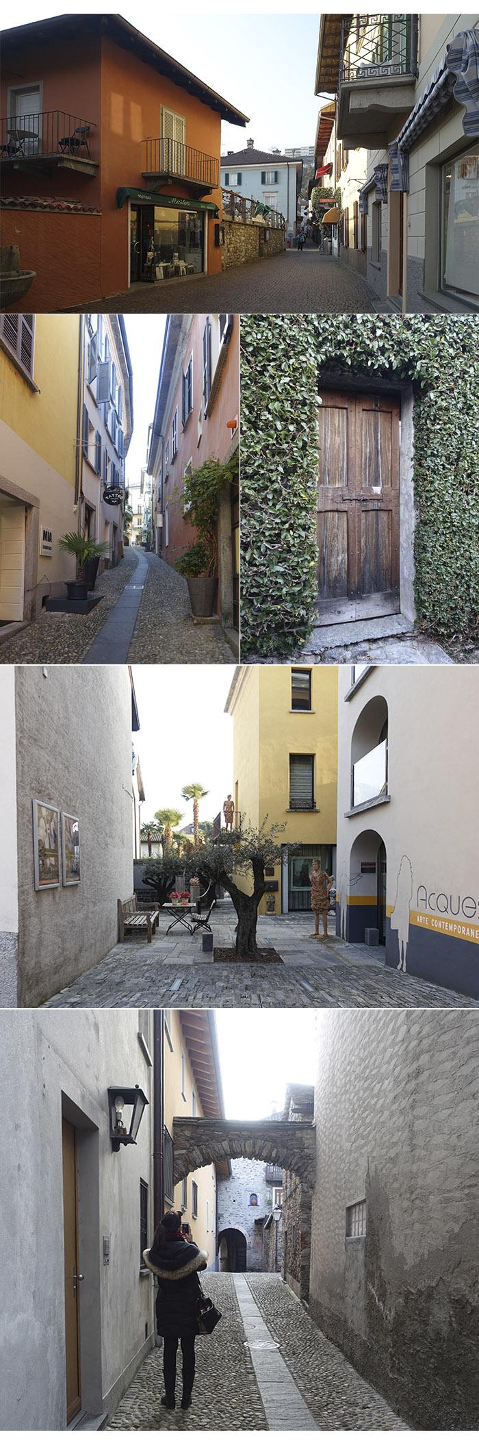 centro historico ascona - Locarno e Ascona, mais um pedacinho da Suíça Italiana
