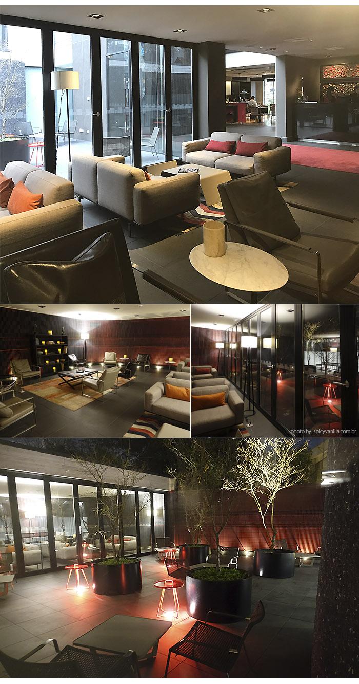 ladera hotel sala - Dica de Hotel | Ladera Hotel Santiago do Chile