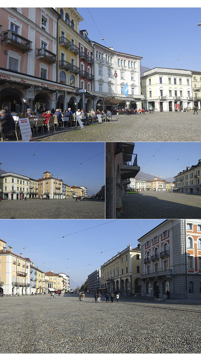 piazza grande locarno - Locarno e Ascona, mais um pedacinho da Suíça Italiana