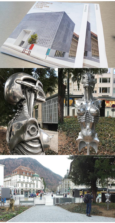 Bundner Kunstmuseum giger - Chur (Coira) | Onde ficar e o que fazer na cidade da Suíça Alemã