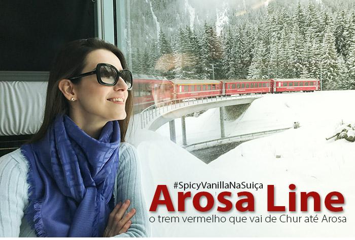 arosa line switzerland - Arosa Line | A viagem pelas montanhas nevadas de Chur até Arosa na Suíça
