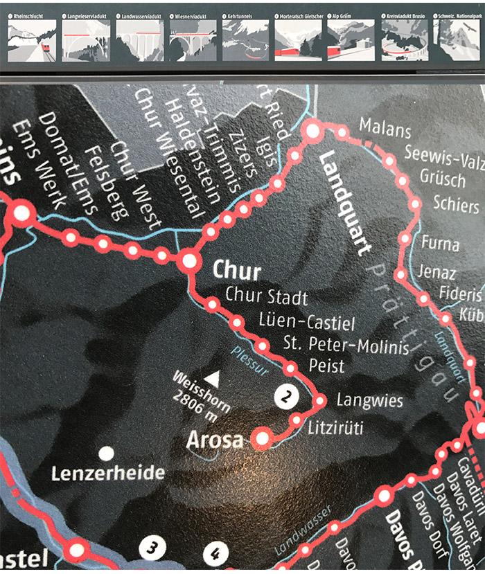 arosa line - Arosa Line | A viagem pelas montanhas nevadas de Chur até Arosa na Suíça