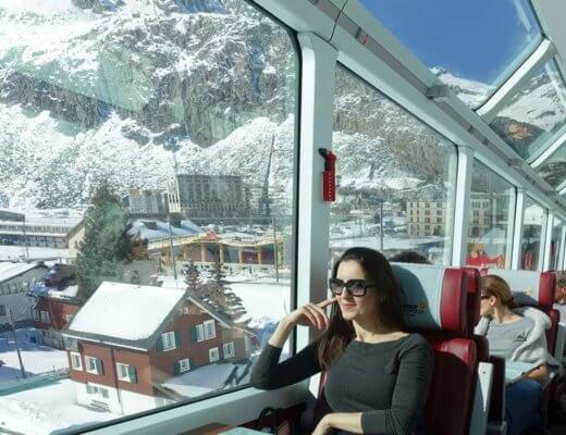 destaqueglacierexpress 2 520x400 - Glacier Express | Como é a viagem no trem expresso mais lento do mundo