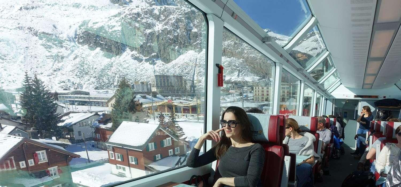 Glacier Express   Como é a viagem no trem expresso mais lento do mundo