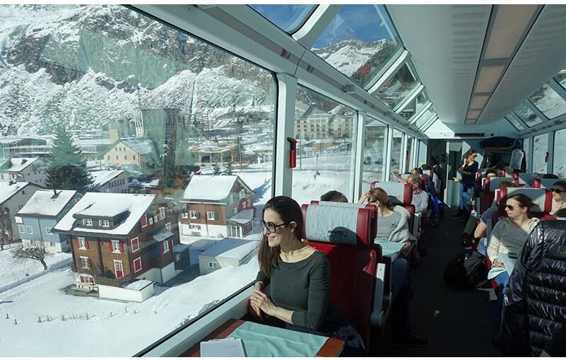 glacier express trem 1 - Glacier Express   Como é a viagem no trem expresso mais lento do mundo