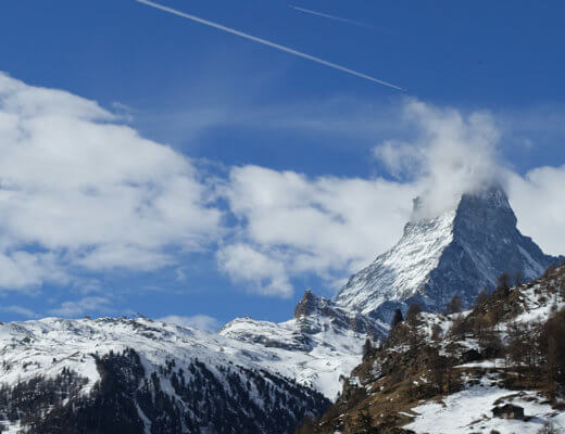 matterhorn 1 520x400 - Um passeio por Zermatt, uma das cidade mais fofas da Suíça onde fica o Matterhorn