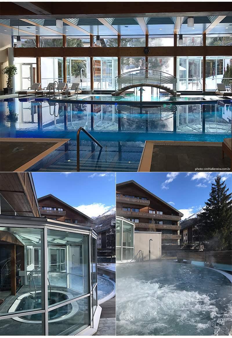 montcervinpalacepool - Hotel em Zermatt | Mont Cervin Palace, um luxo nos Alpes Suiços
