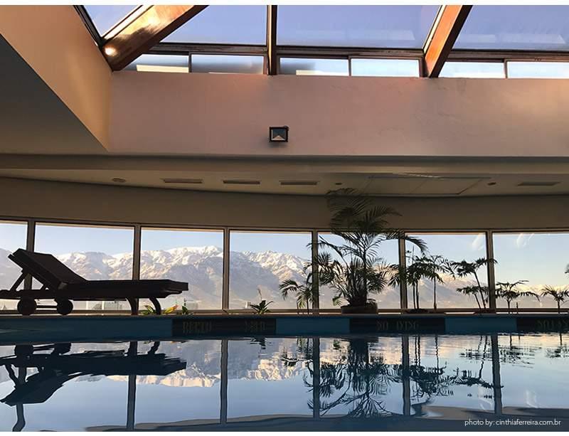 HOtel nh piscina - Dica de Hotel | Chile - Dica de Hotel | Chile - NH Collection Plaza Santiago