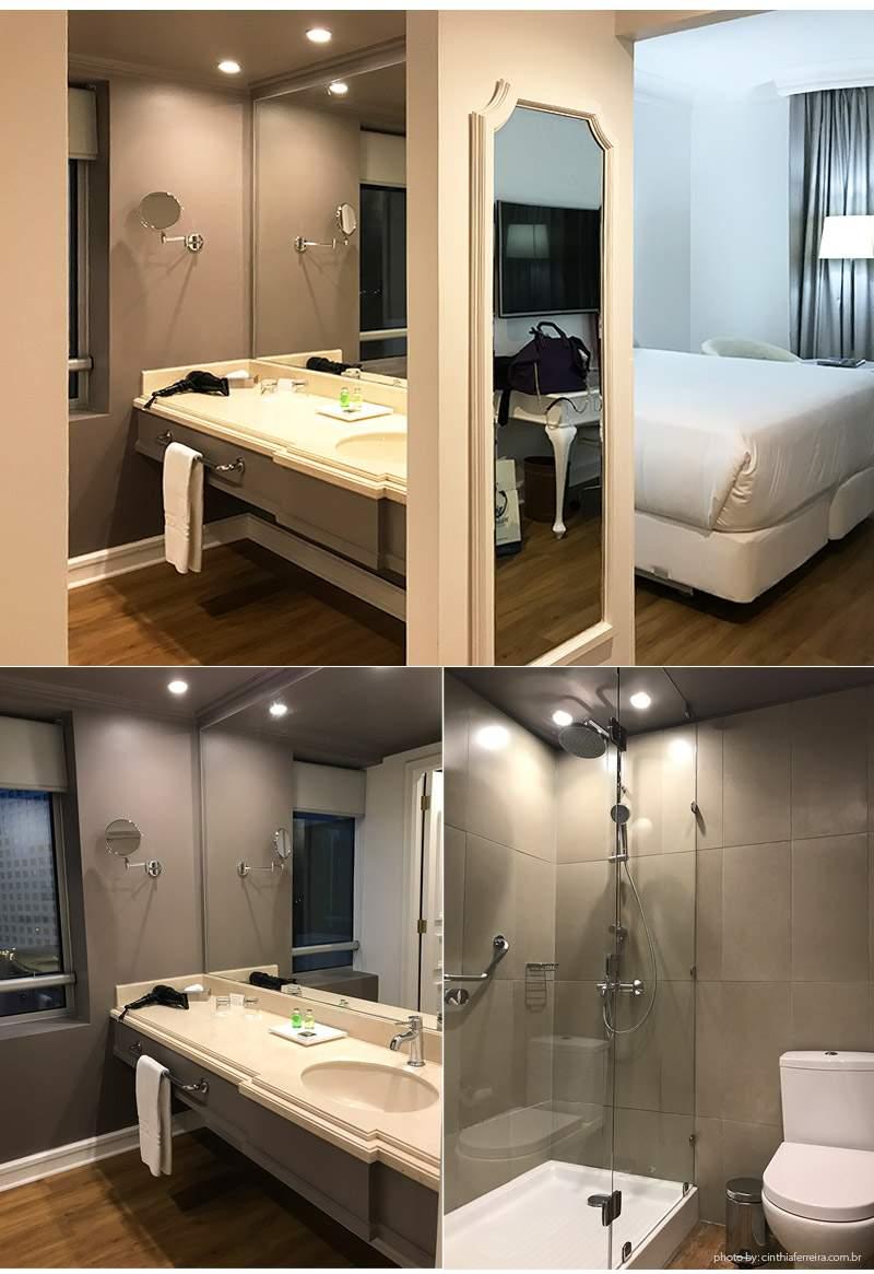 HOtel nh quarto - Dica de Hotel | Chile - Dica de Hotel | Chile - NH Collection Plaza Santiago