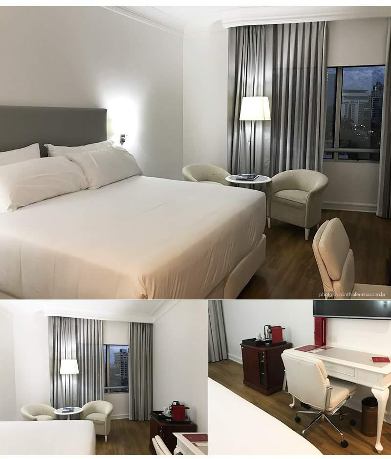 HOtel nh santiago suite - Dica de Hotel | Chile - Dica de Hotel | Chile - NH Collection Plaza Santiago