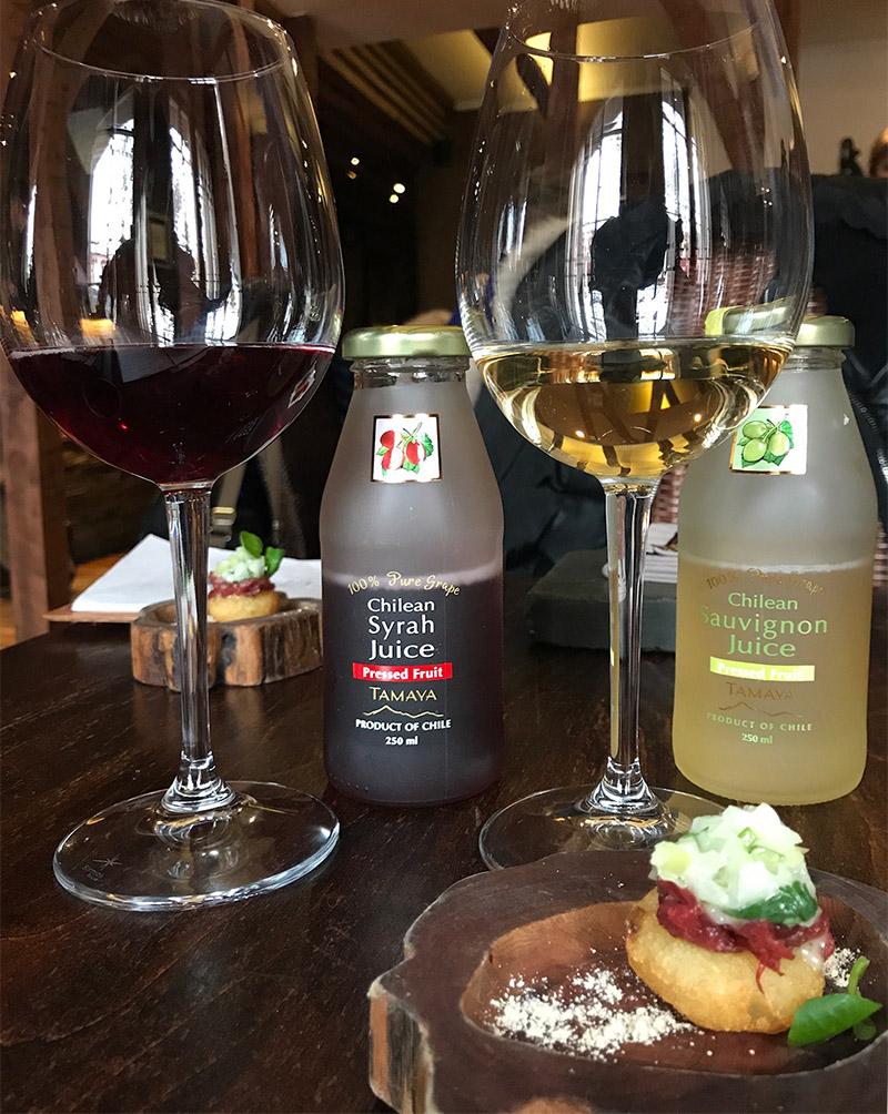 suco uva - TOP 6 | Os melhores restaurantes de Santiago do Chile