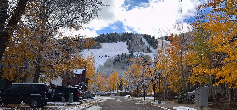 Nosso passeio pelas montanhas nevadas de Aspen no Outono no Colorado