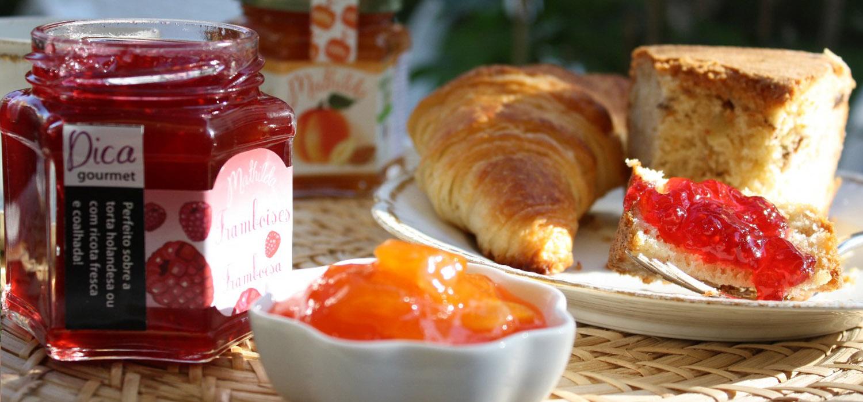 Receita francesa de geléia (gelée) de framboesa | Fácil e rápida