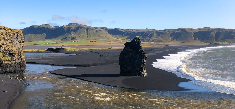 Road Trip Islândia | Praia preta de Vik, Geysir e mais cachoeiras